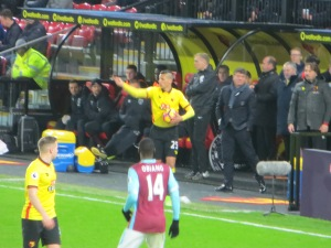 Holebas takes a throw in
