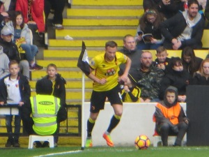 Cleverley Takes a corner